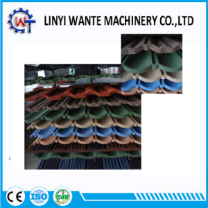 Construction Material Colorful Stone Coated Metal Bond Roof Tile pictures & photos