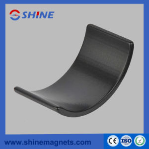 Plating Epoxy Arc Shaped Neodymium Magnets pictures & photos