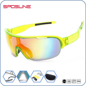 Half Frame Tr90 Durable Anti Glare Outdoor Sport Sunglasses pictures & photos