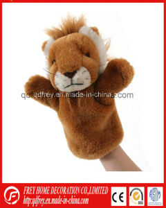 Cute Plush Lion Hand Puppet Toy for Kids Education pictures & photos