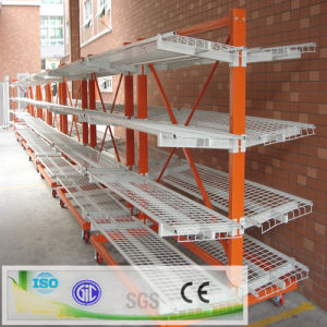 Double Steel Warehouse Wire Shelving Cantilever Racking pictures & photos