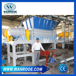 Pnss China Factory Waste Tire Shredding Machine for Recycling pictures & photos