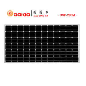Mono Crystalline Solar PV Panel 210W pictures & photos