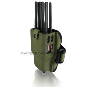 8 Bands Portable Cell Phone Jammer with Nylon Case pictures & photos