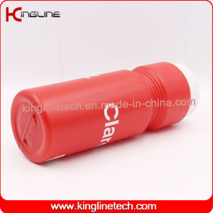 650ml BPA free Plastic Sports Water Bottle (KL-6712) pictures & photos