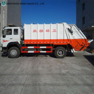 HOWO 6X4 Hydraulic Garbage Truck with Good Price pictures & photos