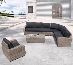 Lounge sofa rattan  China Outdoor Patio Office Home Hotel Wicker Garden Rattan ...