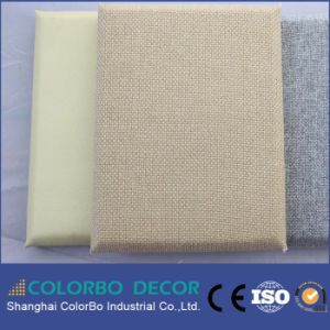 Fire-Resistance Interior Wall Fabric Acoustic Panel for Office Room pictures & photos