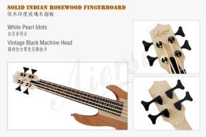 Aiersi Bass Ukulele Left Handed Bass Electric Guitar 24 Fret pictures & photos