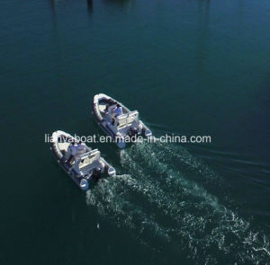 Liya 17FT/5.2m China Semi-Rigid Hull Inflatable Boat for Sale pictures & photos