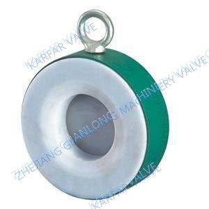 Anti Corrosive Lined Swing Type Check Valve (FEP / PFA / GXPO) pictures & photos