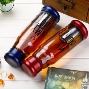 Popular Portable Glass Tea Cup Gift Glass Cup Recyclable Cups pictures & photos