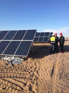 Single-Axis Solar Tracking System for 15mv Solar Power Station pictures & photos