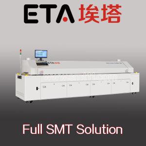 Full SMT Solution, SMT Assembly Line (SMT printer+SMT mounter+reflow oven) pictures & photos