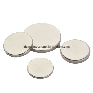 Super Strong Permanenet NdFeB Neodymium Disc Magnet pictures & photos