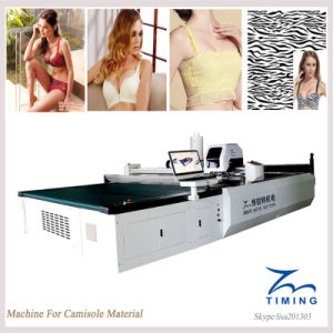 2017 New Products Automatic Fabric Pattern Cutting Laying Machine pictures & photos