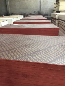 Brown Film Faced Shuttering Plywood pictures & photos