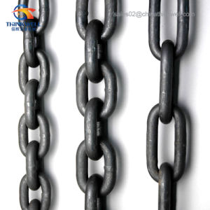 Cargo Tie Down Lashing Binding Lifting Chain with Bent Hook pictures & photos