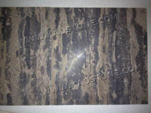 Golden Coast Limestone Polished Flooring pictures & photos