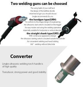 Ultrasonic Handgun Welder pictures & photos