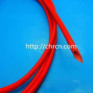Self-Extinguished 2753 Silicone Resin Coated Fiberglass Sleeving pictures & photos
