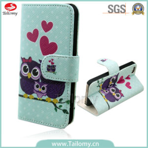 Popular OEM Patterns Printed Wallet Cases for iPhone 6s pictures & photos