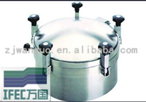 Sanitary Stainless Steel Round Manhole (IFEC-MH100008) pictures & photos