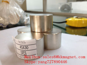 Permanent NdFeB Magnetic Neodymium Magnet D45X30 45X30 pictures & photos