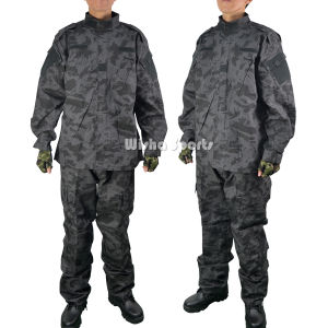 Acu V2 Field Combat Tactical Army Military Uniform in Russian Dark Night Camo pictures & photos