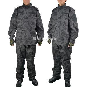 Acu V2 Field Combat Tactical Army Military Uniform in Russian Dark Night Camo