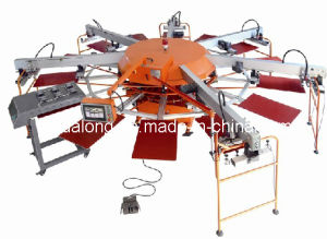 Multi-Color T Shirt Screen Printing Machinery