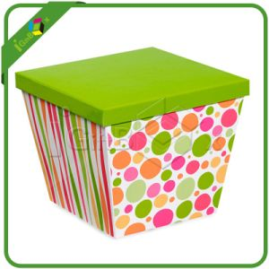 Recyclable Custom Printed Paper Package Storage Box pictures & photos