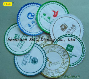 Absorbent Paper Cup Coaster Tea Cup Pad (B&C-G045) pictures & photos