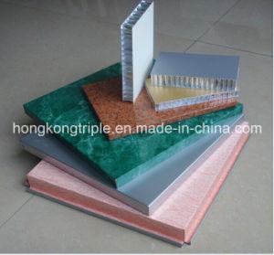 Decorative Aluminum Stonegrain Transfer Composite Honeycomb Panel