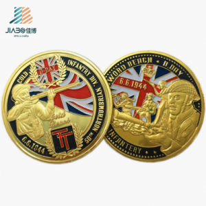 Factory Supply Cheap Customize Gold Challenge Souvenir Coins pictures & photos