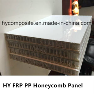 Weather Resistant Smooth Fiberglass PP Honeycomb Board for Truck Body Construction pictures & photos