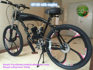 Motorized Bicycle with Engine Kits A80 80cc Engine 26` Bicycle pictures & photos