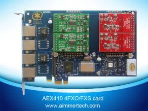 2 FXO +2 FXS Asterisk Card Aex410 Support Asterisk /Trixbox/Elastix