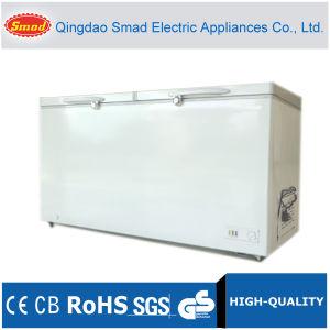 546L Large Capacity White Double Door Ice Cream Chest Freezer pictures & photos