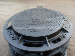 En124 Casting Iron Heavy Duty Manhole Covers pictures & photos
