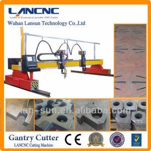 Gantry Type CNC Plasma Cutting Machine for True Hole Cutting