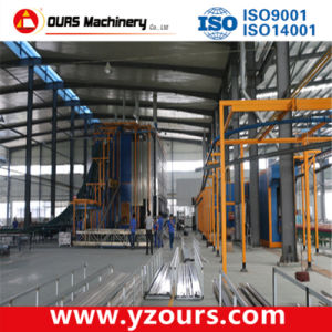 Fast Color Change Powder Coating Line pictures & photos