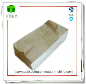 Small Packaging Bag/Brown and White Kraft Paper Bag pictures & photos
