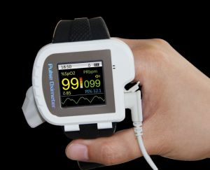 Color Display Wrist Pulse SpO2 Oximeter pictures & photos