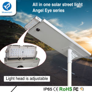 Bluesmart All in One Lighting Solar Outdoor Street Light with Solar Panel pictures & photos