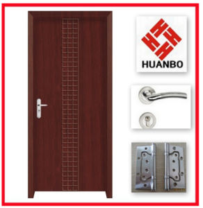 PVC Flush Interior Wooden Door for Interior Room Hb-095