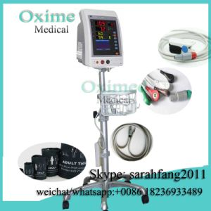 Vital Signs Monitor PC-900sn SpO2 and NIBP Monitor with Trolley +0086 18236933489