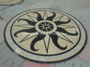 Marble Pattern Waterjet Medallion for Flooring pictures & photos