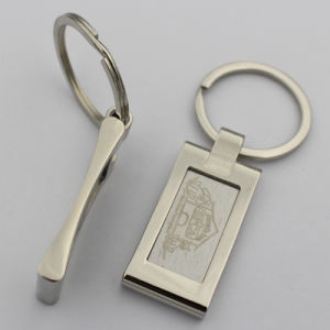 Metal Souvenir Key Ring with Laser Logo pictures & photos