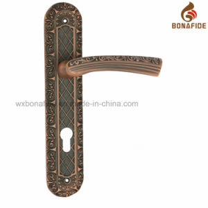 Classical Style Lever Lock Door Handle pictures & photos